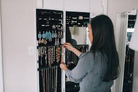 Behind The Door Cabinet Jewelry Organization 3 Tips To Refine Your Accessories Diana