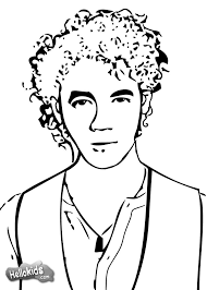 komodo dragon coloring page jonas brother coloring pages jonnas