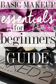 basic makeup essentials for beginners guide