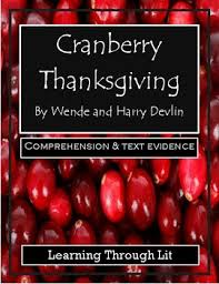 cranberry thanksgiving by wende and harry devlin comprehension