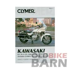kawasaki 81 02 kz1000 kz1100 repair manual old bike barn