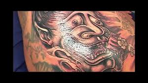 oni mask tattoo by ses mov youtube