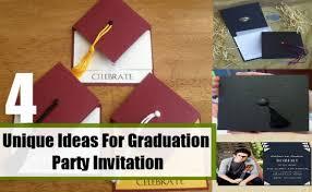 unique graduation party invitations for extra ideas 39681