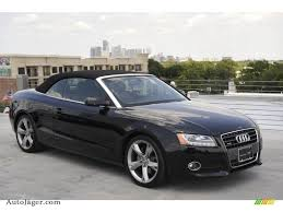 2010 audi a5 cabriolet 2010 audi a5 2 0t quattro cabriolet in brilliant black 014888