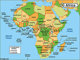 africa continent map africa continent political base digital map from maps