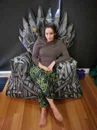 Chair Game Of Thrones Game Of Thrones Enthusiast Behold The Diy Iron Throne Bean Bag