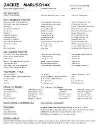 resume in pdf jackie maruschak www jackiemaruschak com actress comedian