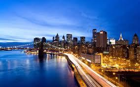 york city night hd clipart