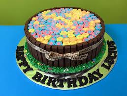 Minecraft Cake Decorating Kit Kitkat Cakes Singapore Chocolate Cakes With Toppings
