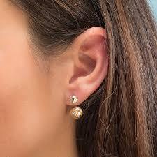 jacket earrings wars bb 8 enamel ear jacket earrings thinkgeek