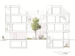 Leed Certified Home Plans Leed Seeking Brick Building In Montreal Hides Funky Geode Like