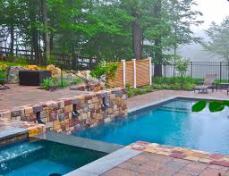 swimming pool designer remarkable backyard landscaping ideas 2
