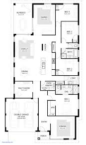 four bedroom floor plans simple 4 bedroom house plans best of spectacular 3 bedroom house