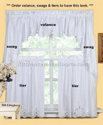 Butterfly Kitchen Curtains by Black And White Kitchen Curtains 10 Best Diy Kitchen Remodeling