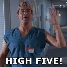 High Five Meme - penn high five upenndoc com