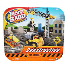 amazon com moon sand construction sky crane set toys u0026 games