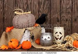 happy halloween tag candy top corner stock photo 482257903