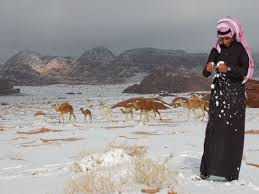sahara snowfall snow on the sahara first time in 40 years this is a sign of the