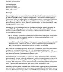 cover letter for college professor cover letter for academic