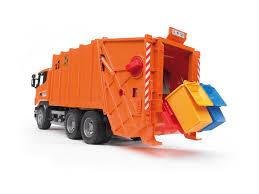 bruder garbage truck scania vuilniswagen 03560 bruder profi serie stoere