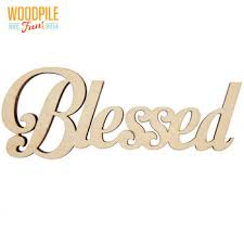 blessed laser cut wood word hobby lobby 1451582