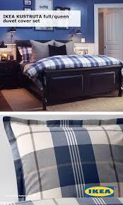 make your dream bedroom kustruta duvet cover and pillowcase s blue check bedrooms duvet