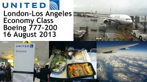 united airlines heathrow los angeles youtube