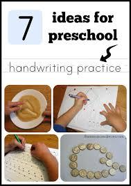 handwriting practice for preschoolers the measured mom