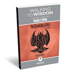 the screwtape letters walking to wisdom literature guide