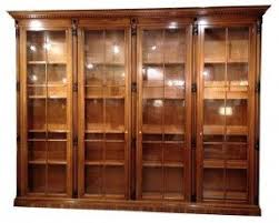 Bookshelves Library Library Bookcase With Doors Foter