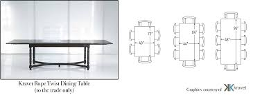 Dining Table Size For 4 Best Large Dining Room Table Dimensions Dining Table Size 8