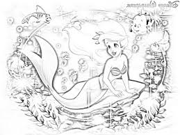 disney princess ariel coloring pictures for 478898 coloring