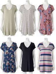 juniors u0027 liberty love t shirt shift dress for 9 09 reg 30