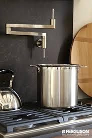 wall mount pot filler kitchen faucet height of pot filler mobiledave me