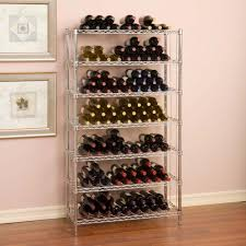 seville classics 168 bottle ultrazinc floor wine rack she16473zb