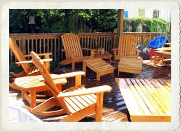 Cypress Adirondack Chairs Classic Adirondack Furniture Cypress Chairs Tables Deck