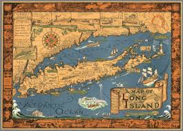 Long Island New York Map by A Map Of Long Island Drawn By Courtland Smith From Data Compiled