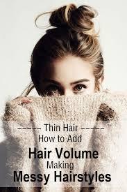 hair buns for hair how to add hair volume for thin hair ideal