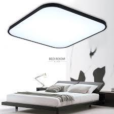 Deckenleuchte Schlafzimmer Dimmbar 18w 68w Led Deckenleuchte Dimmbar Deckenlampe Bad Wohnzimmer Flur
