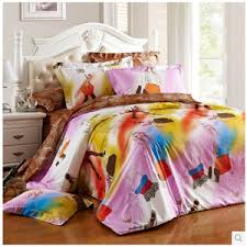 Teen Queen Bedding Simple Baby Pink Striped Hippie Teen Girls Bedding Sets