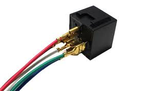 5 pin 12v 40a spdt relay socket wire car fog light drl lamps