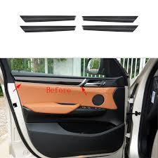 bmw door panel aliexpress com buy 4x 100 carbon fiber inner door panel