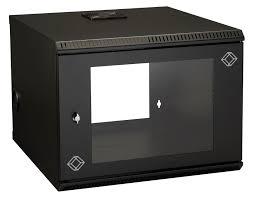 8u wall mount cabinet 8u wallmount cabinet 22 w x 23 6 d m6 square holes 50 lb capacity