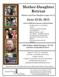 Mother Daughter Memes - mother daughter retreat june 22 25 carmelite sisters of the most
