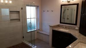 Spa Like Master Bathrooms - trifection turns katy master bathroom into spa like retreat