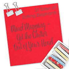 mind mapping get the clutter out of your head do a new thing