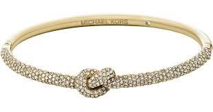 knot bracelet gold images Lyst michael kors pav gold tone knot bracelet in metallic jpeg