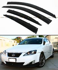 jdm lexus is250 wind deflectors on a 220d lexus is 250 lexus is 250c club