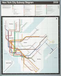 New York Submay Map by Map New York City Subway Map 2008 Objects Collection Of