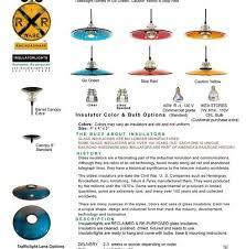 Traffic Light Order Insulator Light Traffic Light Pendant 12